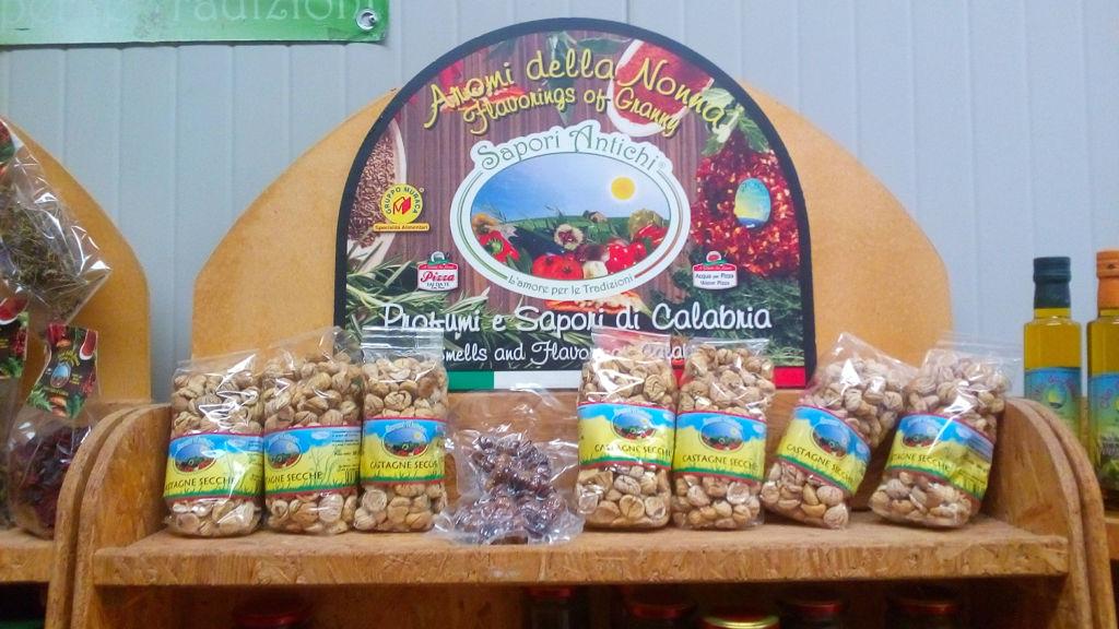 Sapori Antichi castagne e altri prodotti tradizionali calabresi