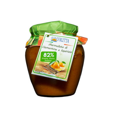 Solefrutta - Marmellata di Clementine e Liquirizia - TuttoCalabrese - Made in Calabria